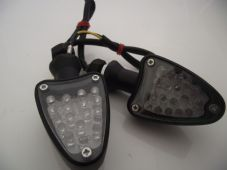 LED indicators arrow black billet alloy streetfighter